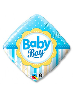 "квадрат baby boy (Qualitex)18"" 46 см"