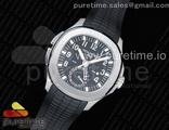 Aquanaut 5164A SS GRF Best Edition Black Dial