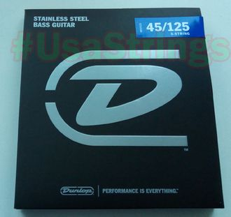 Dunlop 5 string DBS45125 45-125 stainless steel