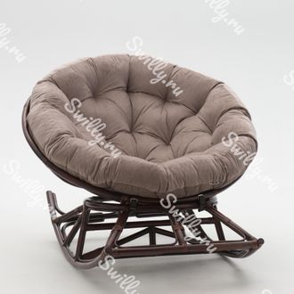 Кресло Swilly Rocker Papasan 3 орех
