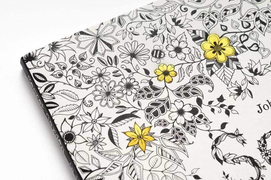 Купить Раскраска для взрослых, антистресс Secret Garden в ...