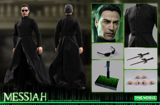 Нео (Матрица, Киану Ривз) - Коллекционная фигурка 1/6 scale Toys Works TW011 Messiah