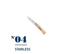 Нож Opinel №04 Stainless Steel
