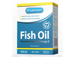(VP Lab) Fish Oil 1000mg - (60 капс)