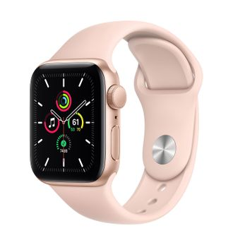 Apple Watch SE 40mm Gold with Pink Sport Band