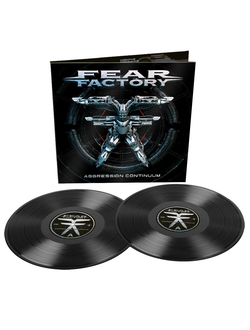 FEAR FACTORY - Aggression continuum 2-LP