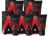 Atlant Gel intimate lubricant gel for men (5 pieces).