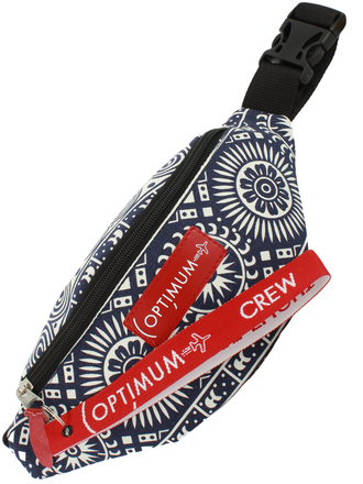 Сумка на пояс Optimum Mini Print RL, винтаж