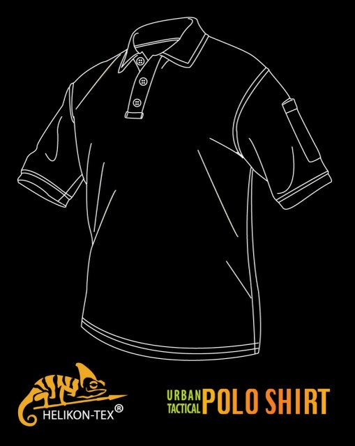TopCool Helikon-Tex UTL Polo Shirt Coyote