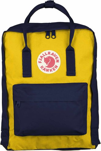 FJALLRAVEN KANKEN Navy/Warm Yellow