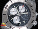 SuperOcan SteelFish Chronograph SS Black/White