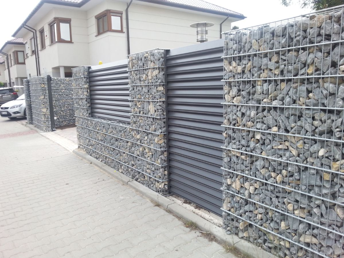 сетчатые заборы - ворота в эко-стиле - ограждения лофт - киев