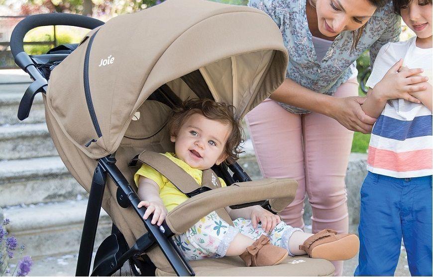Функциональная четырехколесная прогулочная коляска Joie Litetrax 4