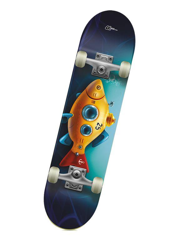 Детский скейтборд CK SUBMARINE