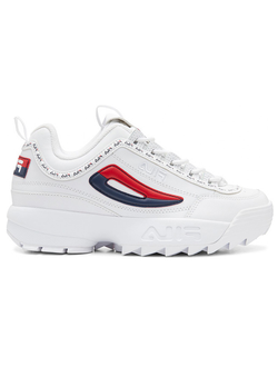 КРОССОВКИ FILA DISRUPTOR 2 PREMIUM REPEAT NAVY WHITE RED