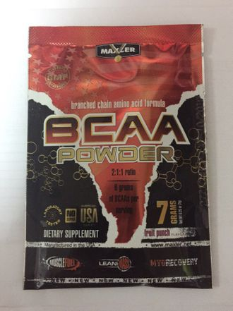 BCAA Powder 7гр Maxler