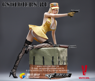 Коллекционная фигурка 1/6 CrossFire - Lurker of Fox Legend VC-CF-01 - VERYCOOL