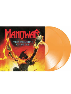 Manowar - The Triumph Of Steel 2- LP colored