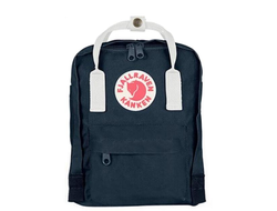 Рюкзак Fjallraven Kanken Royal Blue/White (Mini)