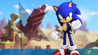 Комплект Sonic Forces + Sonic Mania Plus SONY PLAYSTATION 4 (англ)