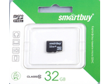 Карта памяти Micro SD 32Gb Smart Buy Class 10