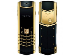 Vertu Signature S Gold Design