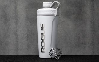 ROGUE BLENDERBOTTLE RADIAN INSULATED STAINLESS STEEL Шейкер Rogue Fitness цвет белый