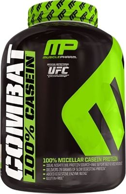 Combat 100% Casein MusclePharm (США) 1814 г.