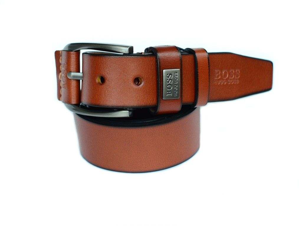 a0d51f742c74 Ремень мужской кожаный брендовый HUGO BOSS купить со скидкой в Москве