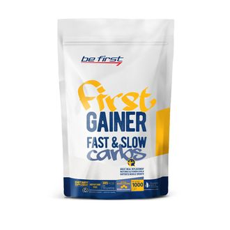 (Be First) First Gainer Fast & Slow Carbs - (1 кг) - (карамель)