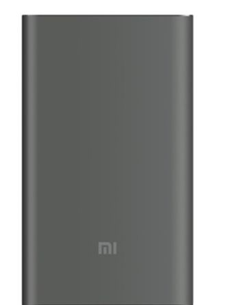 Xiaomi Mi Power Bank Pro QC 3.0 10000 mAh black (PLM03ZM)