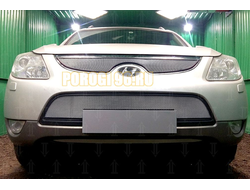 Защита радиатора Hyundai IX55 2009-2013 chrome низ