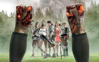 Скауты против Зомби (Scouts Guide to the Zombie Apocalypse) Blu-ray Disc