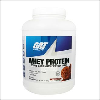 Изолят протеина GAT whey protein isolate blend  2268g
