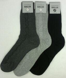 Виоли носки хлопок 100% мужские С-220, 10 пар (1 упаковка)