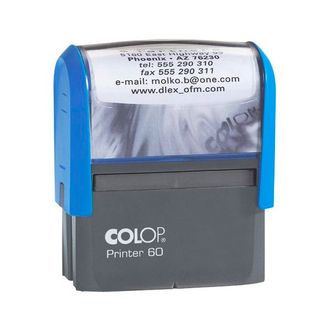 ОСНАСТКА ДЛЯ ШТАМПА COLOP PRINTER 60 NEW; 76Х37 ММ.