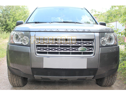Защита радиатора Land Rover Freelander II 2006-2010 black