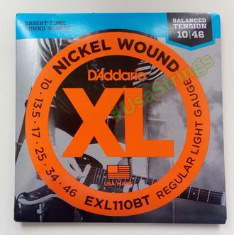 D Addario EXL110BT 10-46 Balanced Tension