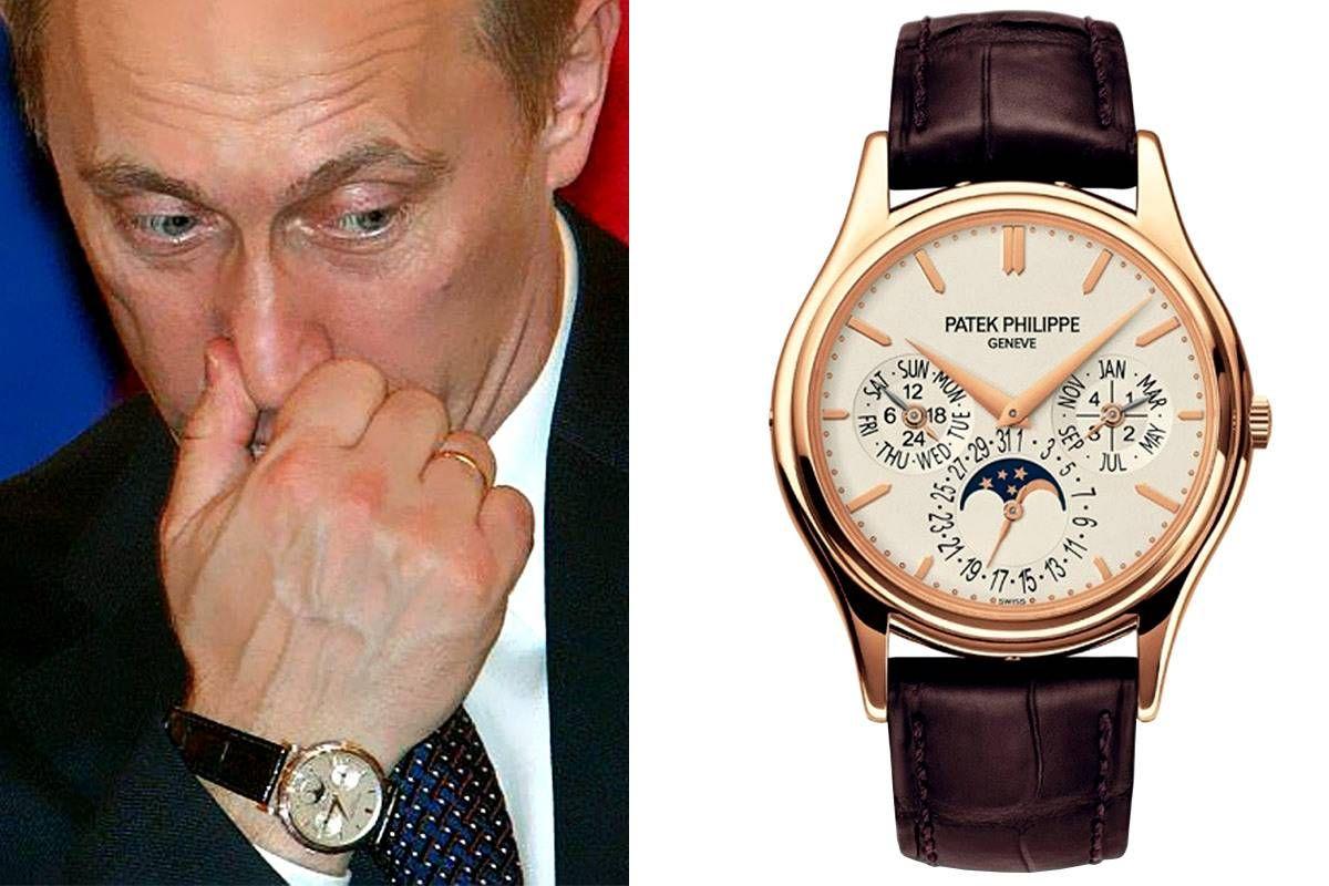 Часов patek стоимость путина час на сдам квартиру в ульяновске
