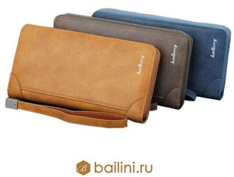 Мужской клатч Baellerry Euro Light Brown