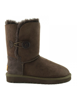 UGG BAILEY BUTTON II CHOCOLATE ЖЕНСКИЕ