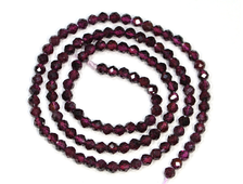 Бусины Гранат, шар 3,5 мм №19022