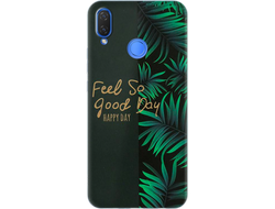 Чехол для Huawei с дизайном надписи Feel So Good Day