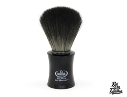 Помазок Omega 0196818 из синтетики Black Hi-brush