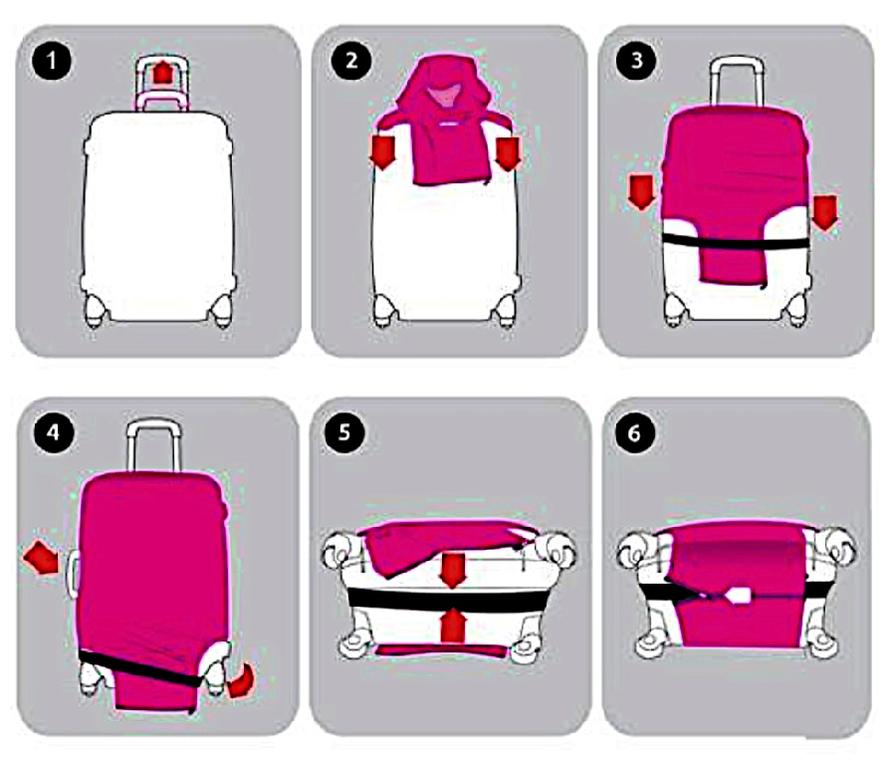 805579da0af0 Чехлы для чемоданов - Чехол для чемодана