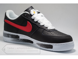 КЕДЫ X PEACEMINUSONE AIR FORCE 1 '07 PARA-NOISE ЧЕРНЫЕ арт. N828