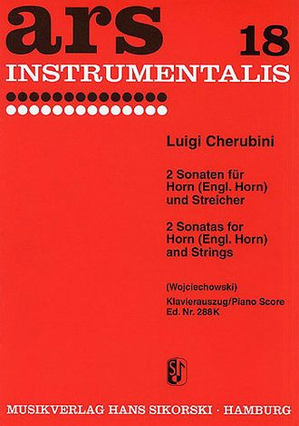 Cherubini: Two Sonatas For Horn And Strings
