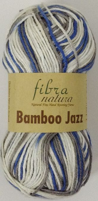 Fibranatura Bamboo Jazz multi 310 сине-серо-белый