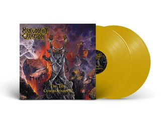 MALEVOLENT CREATION - THE TEN COMMANDMENTS 2-LP