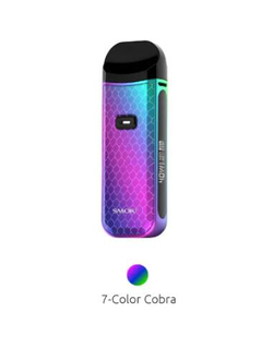 Набор SMOK Nord 2 Pod 1500mAh 7-Color Cobra
